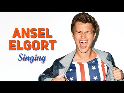 Ansel Elgort (Baby Driver) Singing Cover Songs Compilation | REAL VOICE !!!