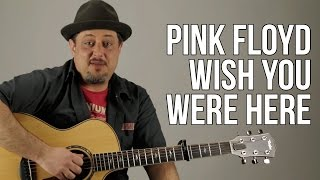 "How to Play ""Wish You Were Here"" (Intro and Chords) - Pink Floyd"