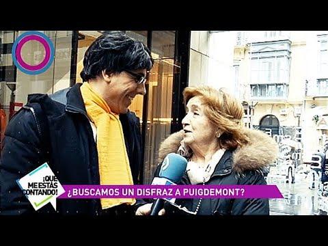Carles Puigdemont busca disfraz para este Carnaval