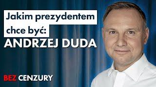 Andrzej Duda o: LGBT, TVP, koronawirusie, głosach po Bosaku i o szansach w starciu z Trzaskowskim
