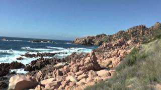 preview picture of video 'Costa Paradiso walk. Sardinia'