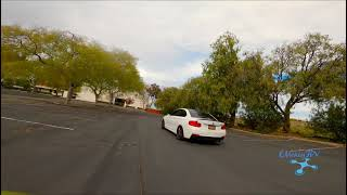 Chasing my BMW M240i with my fpv freestyle drone w/ GoPro hero 8!