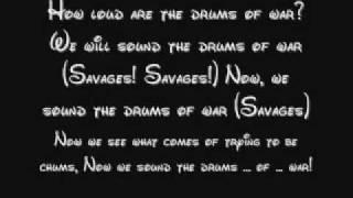 Savages (Both) - Pocahontas Lyrics