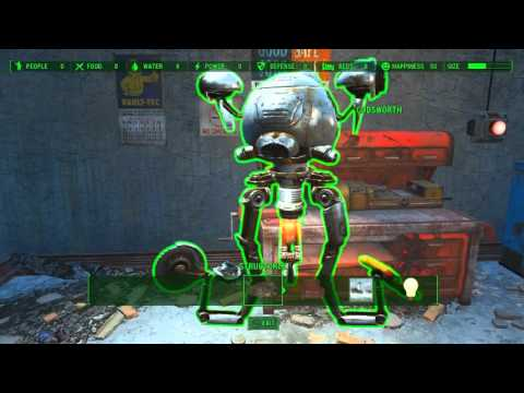 Fallout 4 - Codsworth Accident