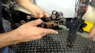 Kart Cross Construção Artesanal FASE 19 - Preparando Suporte Do Motor