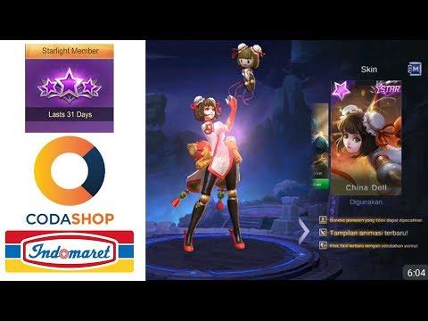 Cara Beli Starlight CodaShop Via Indomaret - Mobile legend - Indonesia