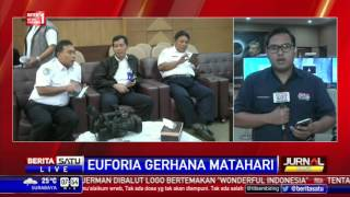 BMKG Live Streaming Amati KotaKota Terdampak Gerhana Matahari Total