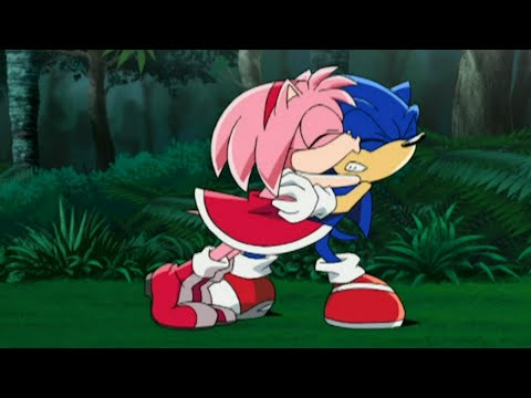 Sonic X - Amy is off to save Sonic with Cosmo and Cream