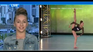 Tate McRae Interview About So You Think You Can Dance on CTV News