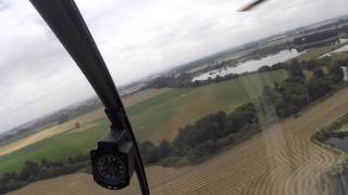 What's it like to fly a helicopter?