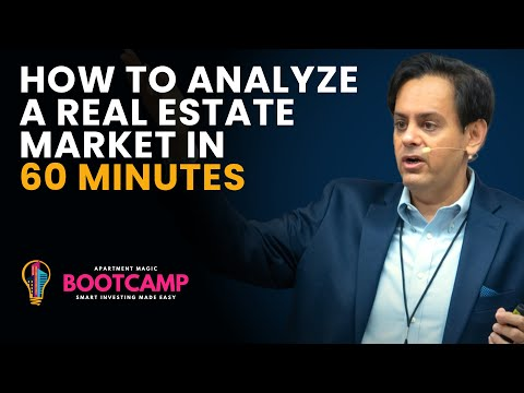 How to Analyze a Real Estate Market in 60 Minutes - Know More than a  Local Expert - Neal Bawa