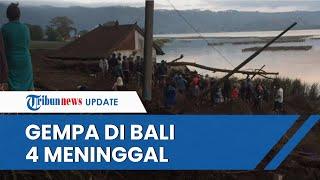 Gempa Magnitudo 4.8 Guncang Bali, 4 Orang Meninggal Tertimbun Material Longsor Tebing di Trunyan