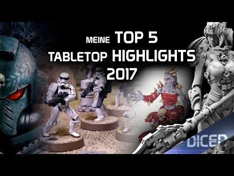 Meine Top 5 der Tabletop Highlights 2017 | DICED