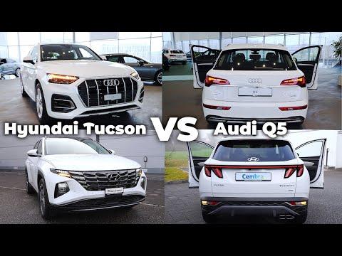 Hyundai Tucson 2021 vs Audi Q5 2021