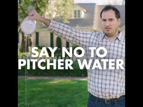 Say No To Pitcher Water