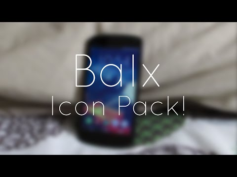 Video of Balx - Icon Pack