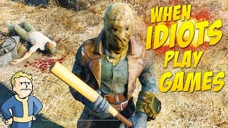 Falldown 4! (When Idiots Play Games #3)