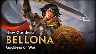 SMITE - God Reveal: Bellona, Goddess of War