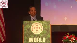 Shri Raju Reddy speaking at Inaugural Session of WHC 2018