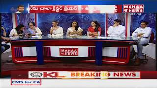 Gabbar Singh Gang Fires On Sri Reddy In Live Debate | #PTM