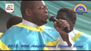 C.C.C COMFORTER CATHEDRAL CHOIR, AKOKA, 40TH ADULT HARVEST AND THANKSGIVING SERVICE, 2015