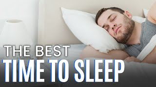 What is the Best Time To Sleep - by Mark Bowden