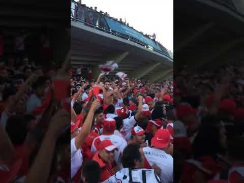 """""""De corazón yo vengo a verte / Supercopa vs boca 2018"""" Barra: Los Borrachos del Tablón • Club: River Plate • País: Argentina"""