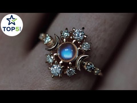 Unique Engagement / Wedding Rings For Those Who Like 'Something Different'