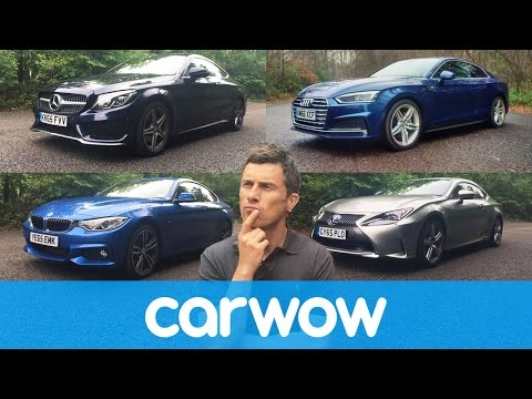 Audi A5 vs Mercedes C-Class Coupe vs BMW 4 Series vs Lexus RC | Head2Head