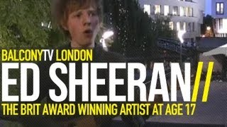 ED SHEERAN - THE CITY (BalconyTV)