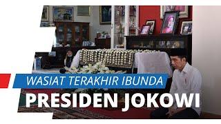 Wasiat Terakhir Sudjiatmi Notomihardjo, Ibunda Presiden Joko Widodo Sebelum Meninggal Dunia