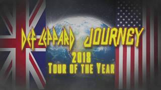 DEF LEPPARD - North American Tour w/ Journey On Sale Now