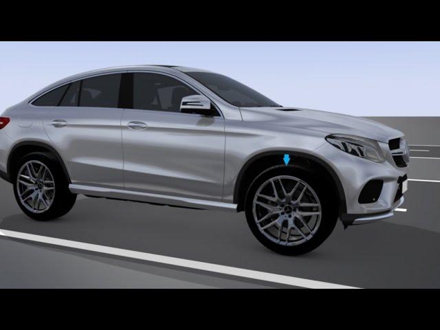 GLE Coupé: AIRMATIC - Mercedes-Benz original