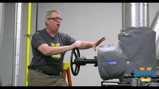 Using Valve Wraps in the Boiler Room
