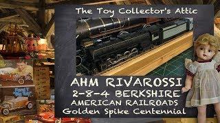 AHM RIVAROSSI Berkshire American Railroads Centennial - Gold Spike