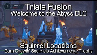 Trials Fusion - Squirrel Locations - Welcome to the Abyss - Gum Chewin