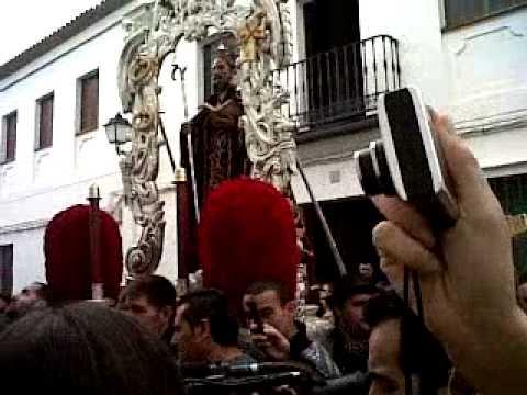 Trigueros vive la procesión eterna de San Antonio Abad