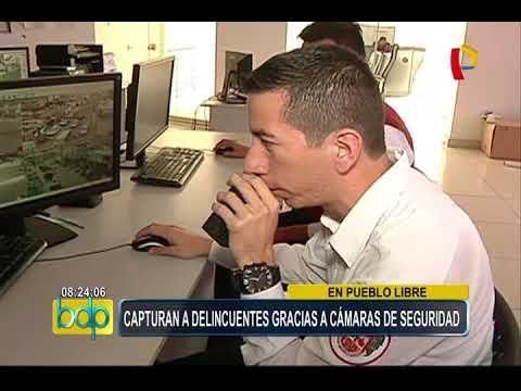 Pueblo Libre: cámaras de seguridad permiten capturar a delincuentes