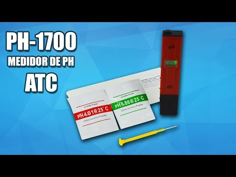 Medidor de PH (phmetro ou Peagâmetro) Digital Portátil  PH-1700 Como usar e Calibrar- INSTRUTHERM