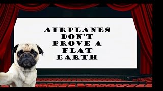 Airplane Level Flight Does NOT Prove the Earth is Flat