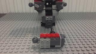 Lego War Machine buster 76124 speed building