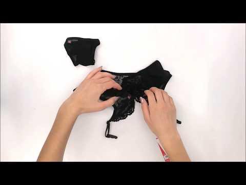 Podvazkový pás Charms garter belt - Obssesive