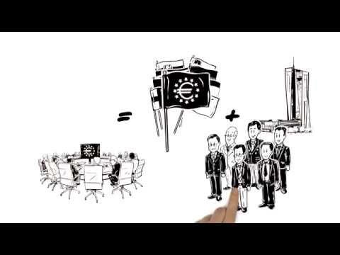 La BCE et l'Eurosystème expliqués en trois minutes (видео)