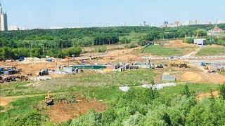 СРОЧНО⚡️Вырубка деревьев в природном заказнике «Долина реки Сетунь».Москва / LIVE 25.05.19