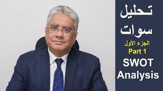 د إيهاب مسلم - SWOT Analysis تحليل سوات - التحليل الرباعى - الجزء الأول - ماهو تحليل سوات