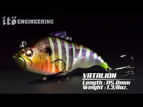 Vobler Megabass Vatalion 11.5cm 35.8g GG Chart Back Gill F