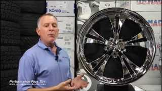 Performance Plus Tire Reviews - Vision Shockwace 539D Chrome