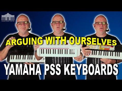 Yamaha PSS-E30 vs PSS-A50 vs PSS-F30   Comparing Yamaha's PSS Series Keyboards
