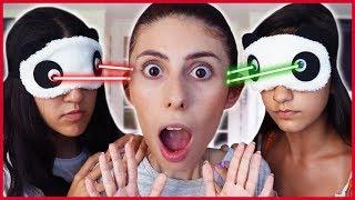 Körebe Slime Challenge Körebe Oyunu Oynadık Eğlenceli Çocuk Videosu Dila Kent