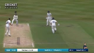 Hobbled O'Keefe forgets he has a runner, gets run-out